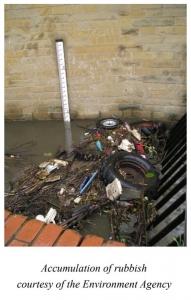 Accumulation of rubbish