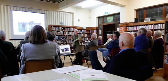 Marta Smith's Talk at the AGM of Wakefield Historical Society