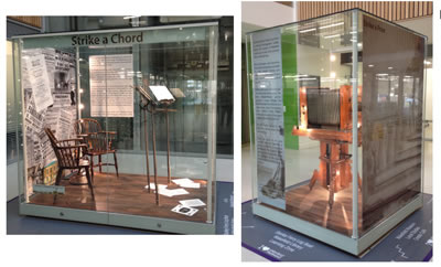 Museum display cases