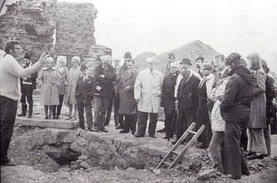 Sandal Castle excavations