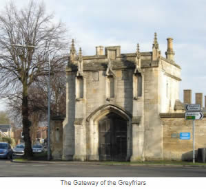 The Gateway of the Greyfriars