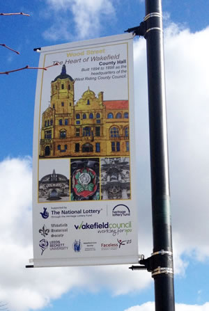 Wood Street banners