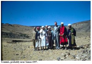 Oliver Kemp in Yemen 1957